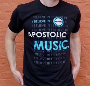 Apostolic Music T-Shirt Image